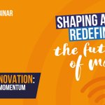 Image for the Tweet beginning: Media Innovation: Maintaining Momentum Post-Covid.  The