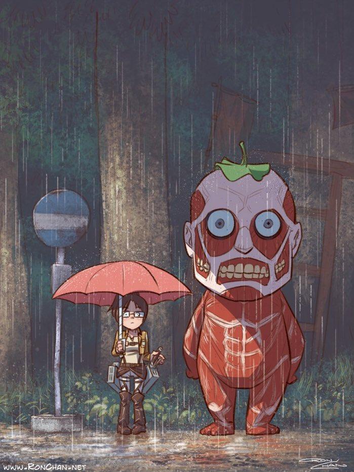Attack on Totoro  Credit: @RonDanChan https://t.co/qYMjhBAxj3