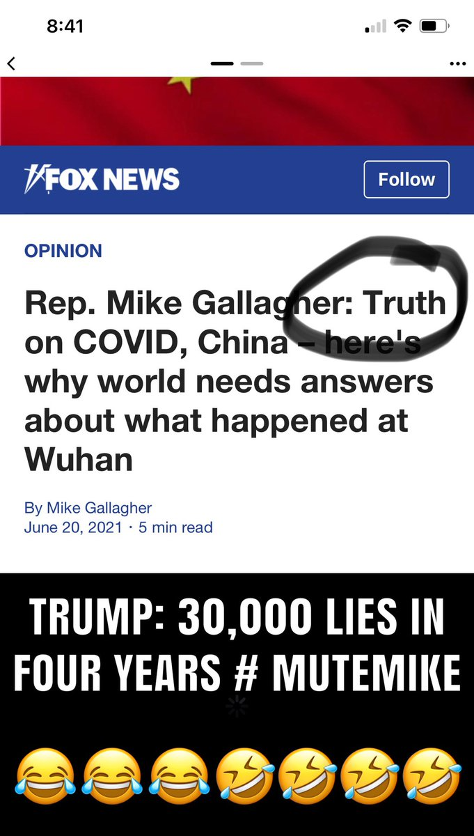 """Rep. Mike Gallagher on Twitter: """"We have spent the last 18 months  witnessing China's Chernobyl in the form of the COVID-19 pandemic.  Understanding how this happened, no matter how much it angers"""