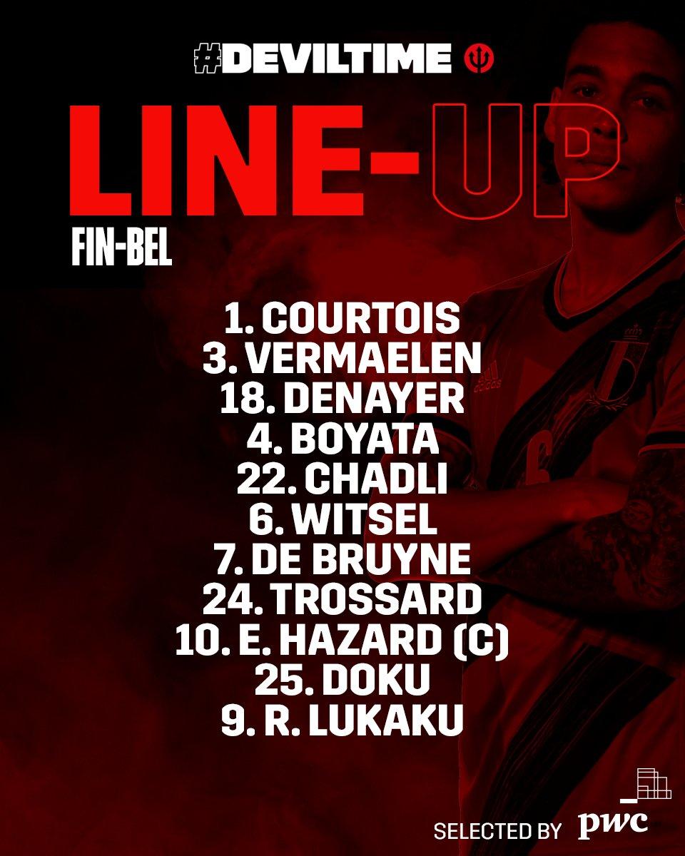 🇧🇪 It's #DEVILTIME for @LTrossard...   Good luck Leo!  #BHAFC 🔵⚪️