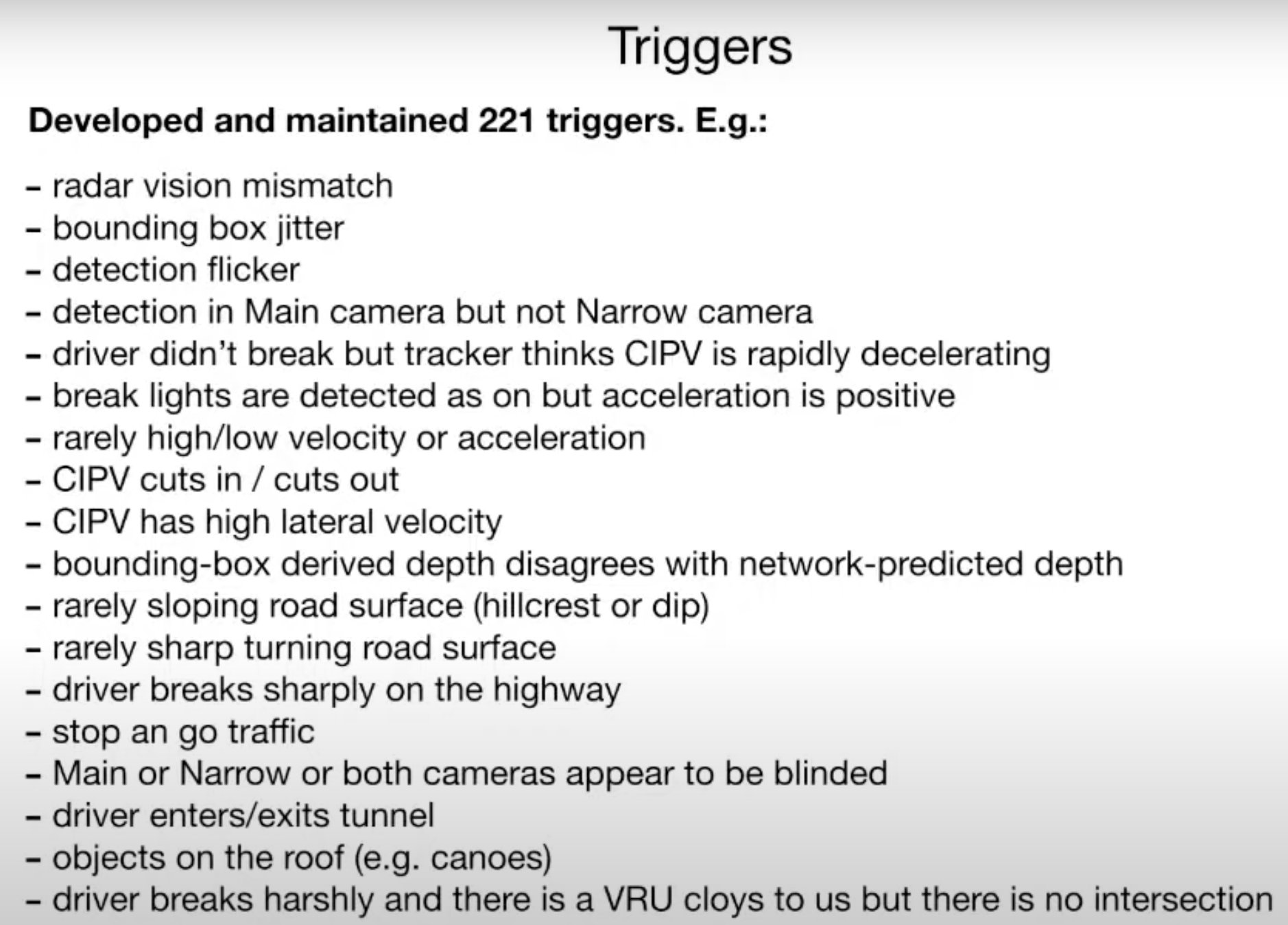 Test Driven Triggers