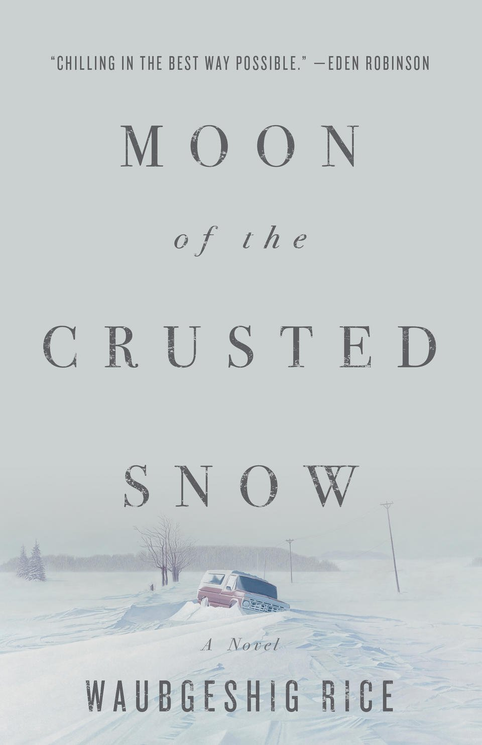 Cover of Waubegish Rice's MOON OF THE CRUSTED SNOW
