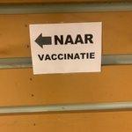 Eerste vaccinatie zit erin! Eerlijk is eerlijk: goed geregeld hier in Zeist! 💉