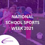 It is #NationalSchoolSportWeek, so we encourage everyone to find a sport they love and participate in it, whether that's at school or outside.