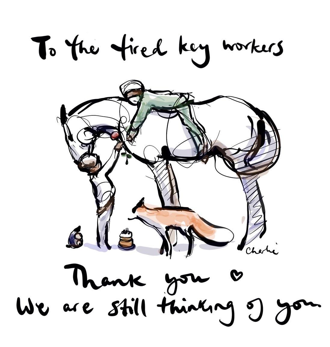 test Twitter Media - RT @charliemackesy: Thank you @NHSuk @NHSEngland ❤️ https://t.co/KJ8NOfQ0ua