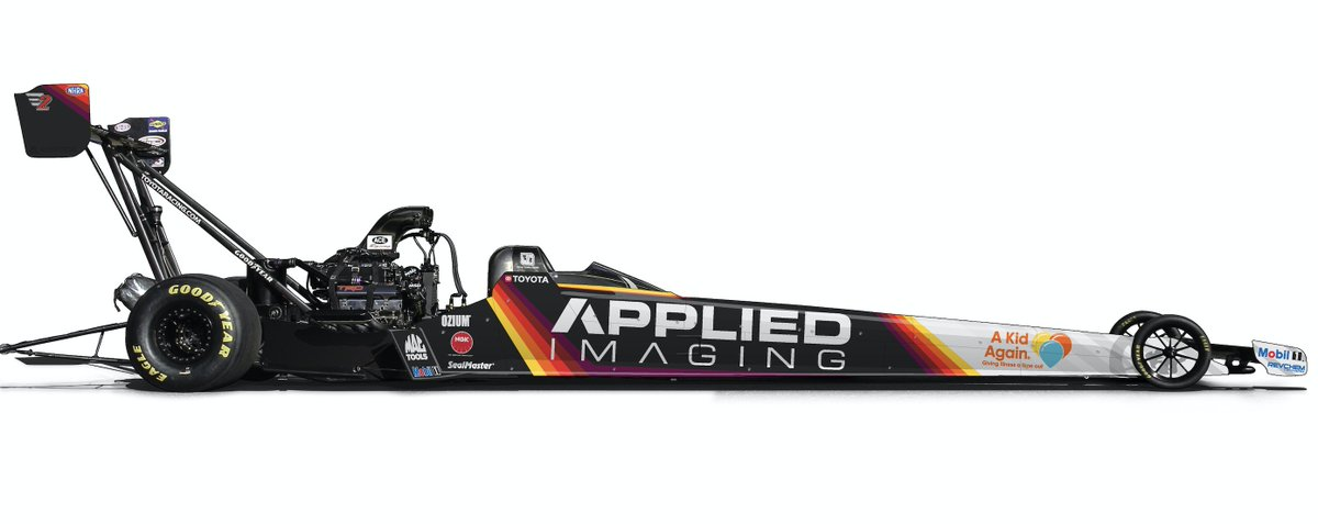 Thanks, @applied_imaging & @TeamKalitta for your generous support! Can't wait to see this dragster in action! #hopehappinesshealing