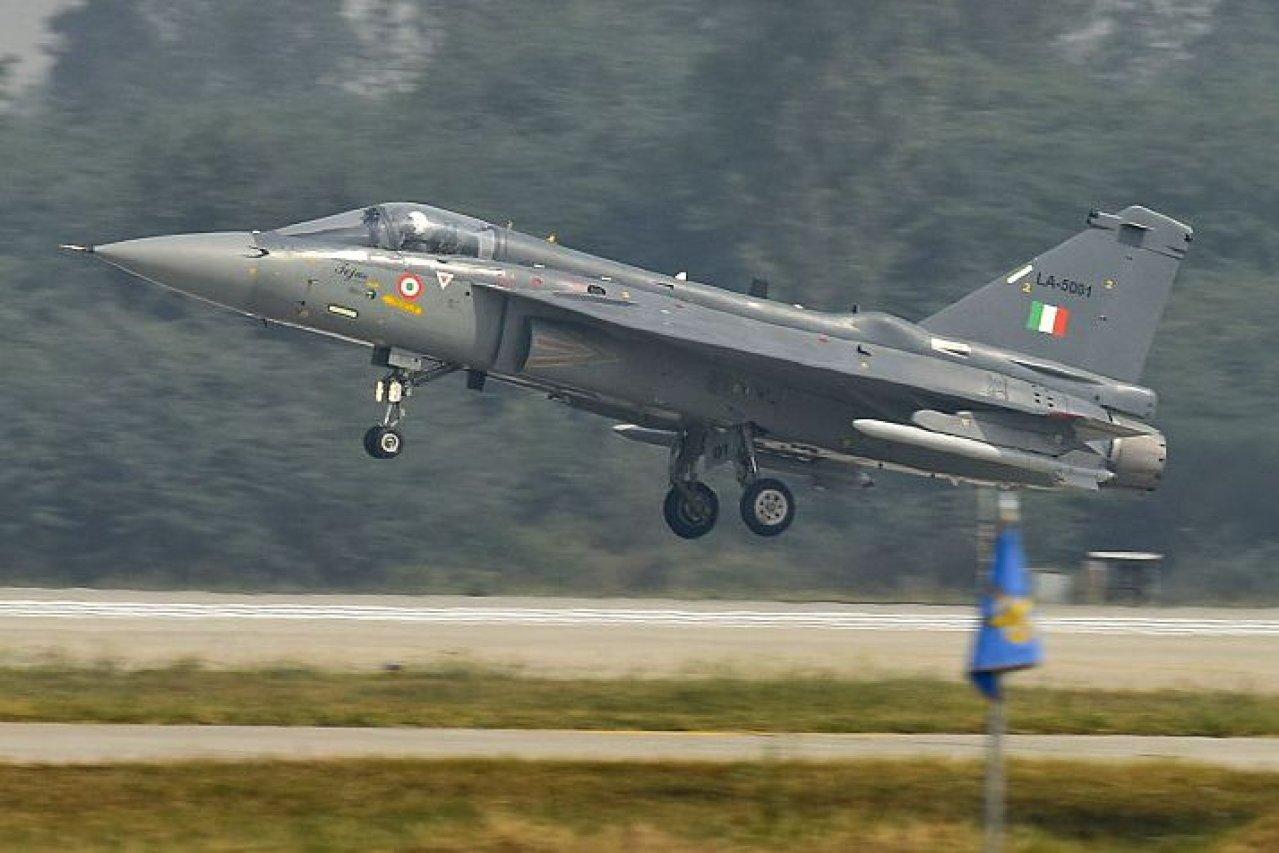 Tejas light fighter aircraft.