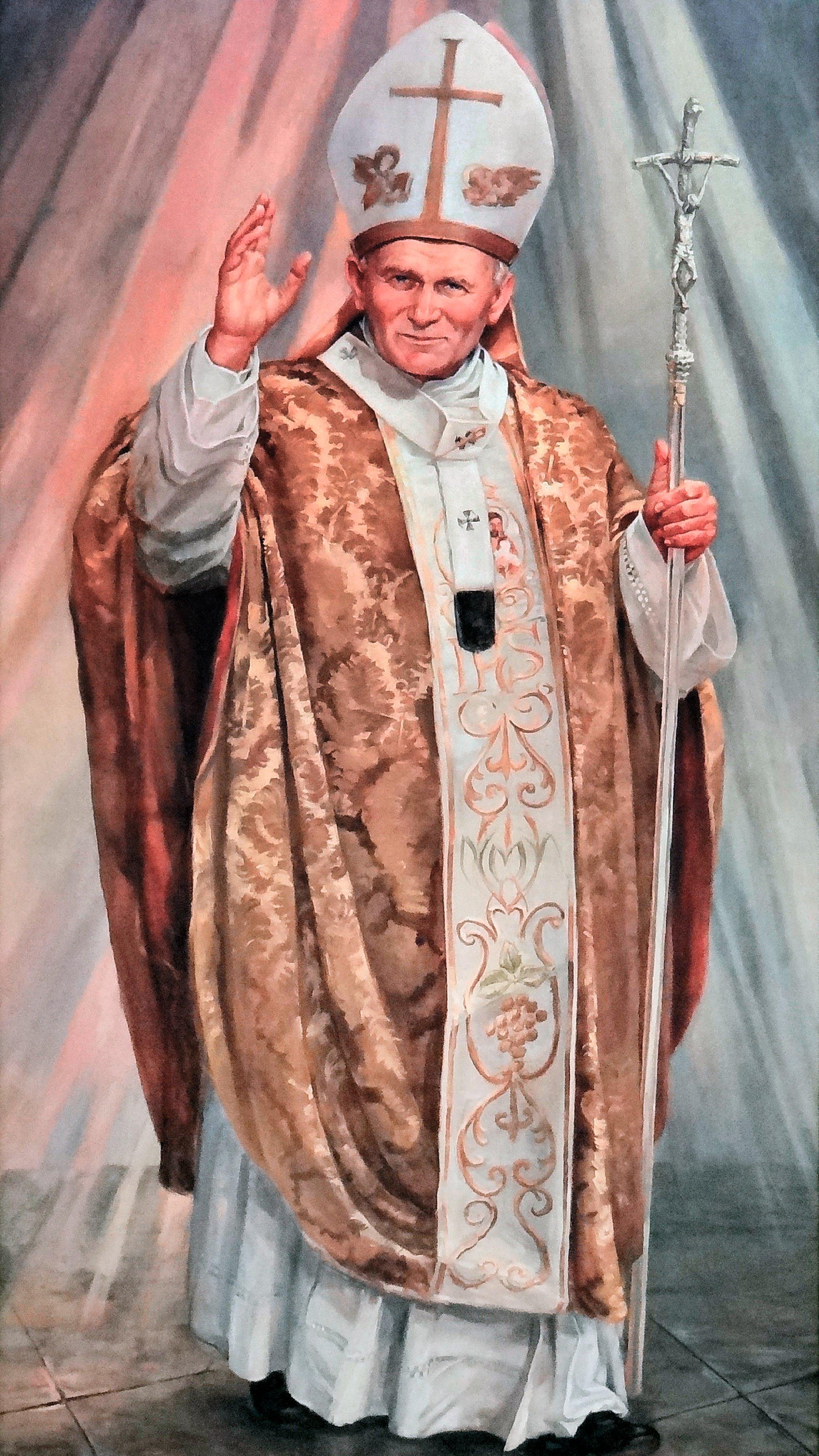 Wallpaper of Saint John Paul II