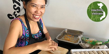 test Twitter Media - As Mai rolls up spring rolls, she remembers Jesus as her Sustain-er when her work is heavy and customers are few. Pray for Vietnamese believers who work long days, give testimony of their faith, and even spend more time outside of work to share the Gospel. #pray4vietnam https://t.co/W5iVeX5QIX