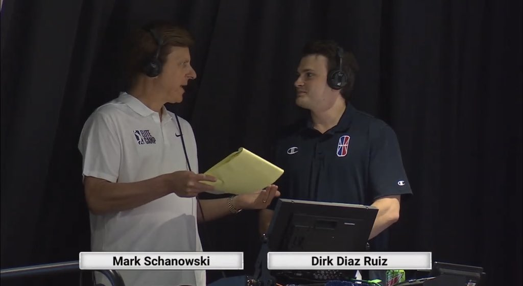 Look at our guy @Dirk_JDR out here doing big things for the @nbagleague, while repping the @NBA2KLeague🔥  Proud of you! 👏🏼 https://t.co/4073S4VCJT