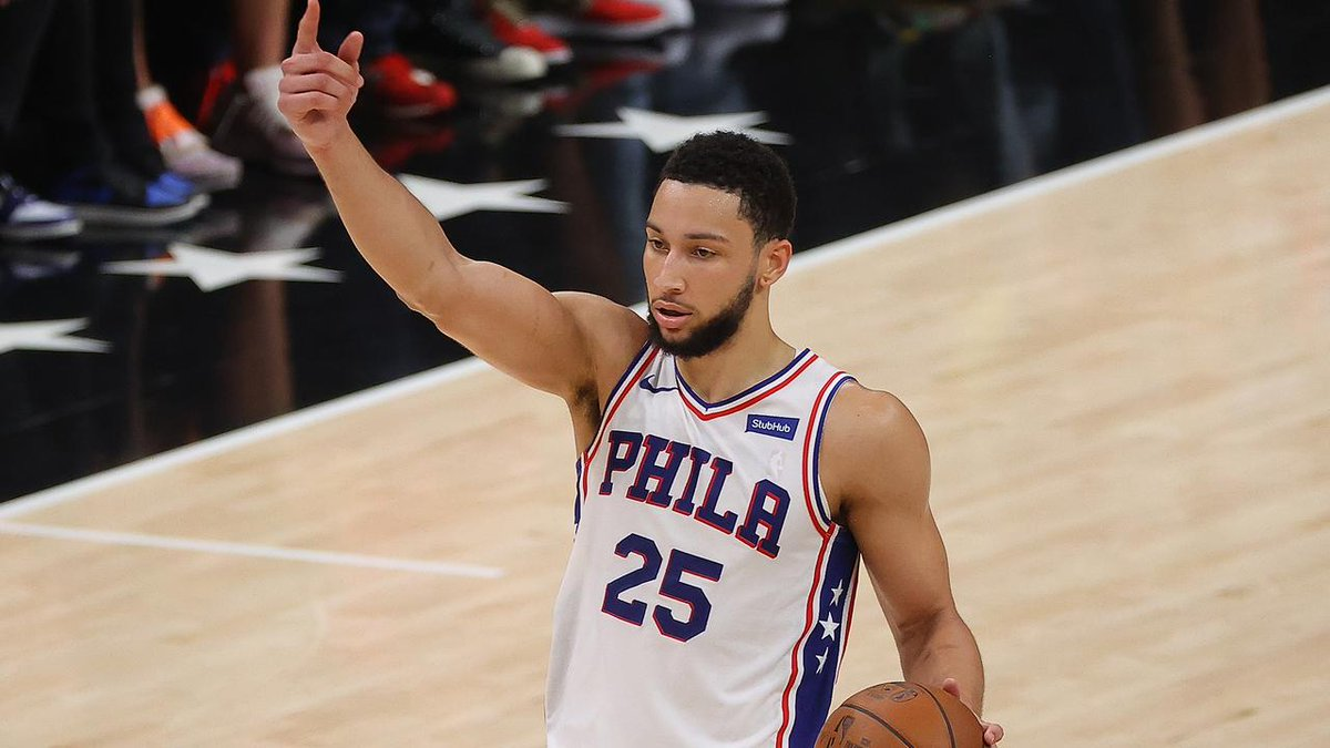 @ESPNStatsInfo w/o #bensimmons the #Sixers perimeter defense would be awful  Not a title contender without it. Looks like we'll see that happen 2022.  https://t.co/5f2JoD77bQ #HereTheyCome #PhilaUnite #PHIvsATL #NBAAwards #nbabasketball #NBAAllStar https://t.co/gutenOtJP9