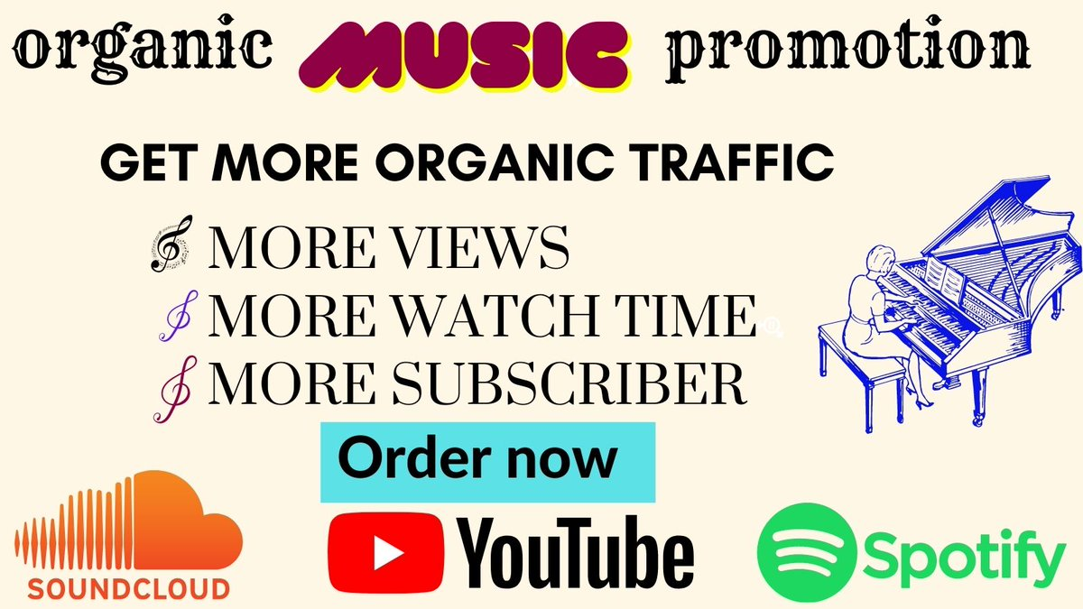 Get organic promotion >dm me more info? #YouTube #youtuber #music #singers #indiemusic #indieartist #musicartist #YouTubeMusic #music #newyoutuber #newyoutubemusic #newyoutubechannel    #rockmusic  #popmusic #hiphopmusic  #hiphopartist #rapper #rappers #Spotify #soundclud #sonkor https://t.co/xADnxt1Rz8