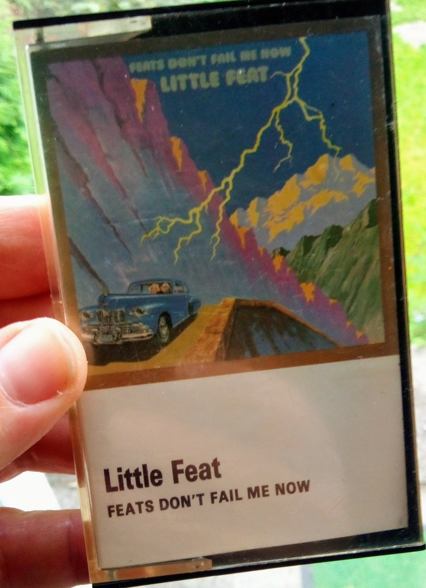 It's 1974 for today's classic #cassette and Little Feat with 'Feats Don't Fail Me Now'. Check out track 1, side 1, Rock 'N' Roll Doctor - everything you need on a Monday! #music #littlefeat #blues #rock https://t.co/mxTBmHwFiI