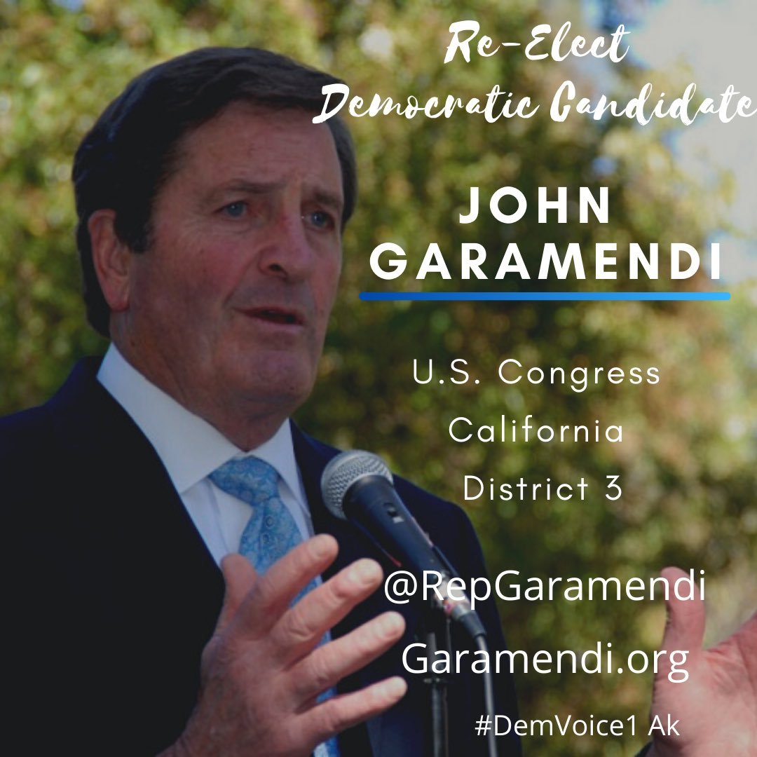 JOHN GARAMENDI #CA03 has been an excellent rep for his Northern California constituents. I know, I'm one of them.  Republicans are targeting John to flip this seat. Let's all chip in and help him fight back.  Website: https://t.co/GKrn0FaaN4  @RepGaramendi   #DemVoice1 #wtpBLUE https://t.co/T1H42APnQy https://t.co/hthZAcaqMa