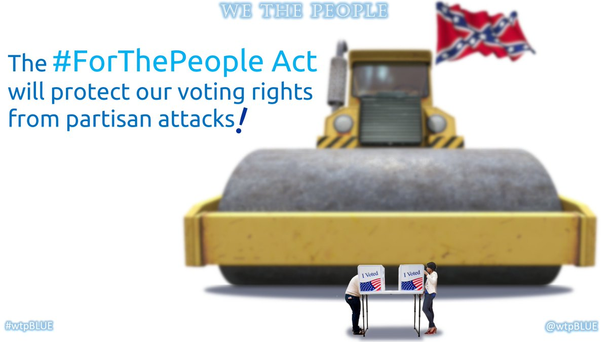 The GOP is hellbent on making it harder for Americans to vote, & easier for state legislatures to cancel election results on a whim  I call upon the @NFLPA take a stand FOR democracy, & to *strike* if the #ForThePeopleAct is not signed into law  #wtpBLUE https://t.co/eD7eMXdoRZ