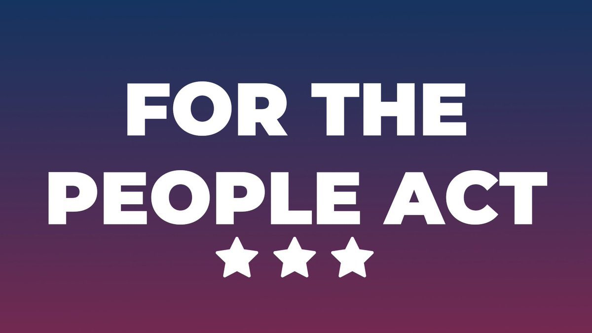 The anti-voting laws being passed by Republican infested states would rig elections for Republicans and allow Dems no recourse.  🔥THEY MUST BE STOPPED!🔥  📞 Call Joe Manchin: (202) 224-3954  📞 Call Krysten Sinema: (202) 224-4521  #ForThePeopleAct  #wtpBLUE   #DemVoice1 https://t.co/13duBUXHqP