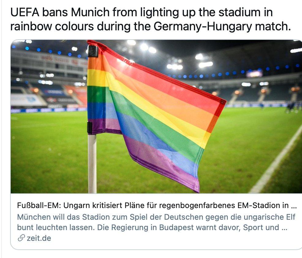 UEFA odbila prijedlog Njemačke da Allianz Arenu osvjetli duginim bojama za tekmu kontra Mađara E4bpQCwXMAI_LJs?format=jpg&name=medium