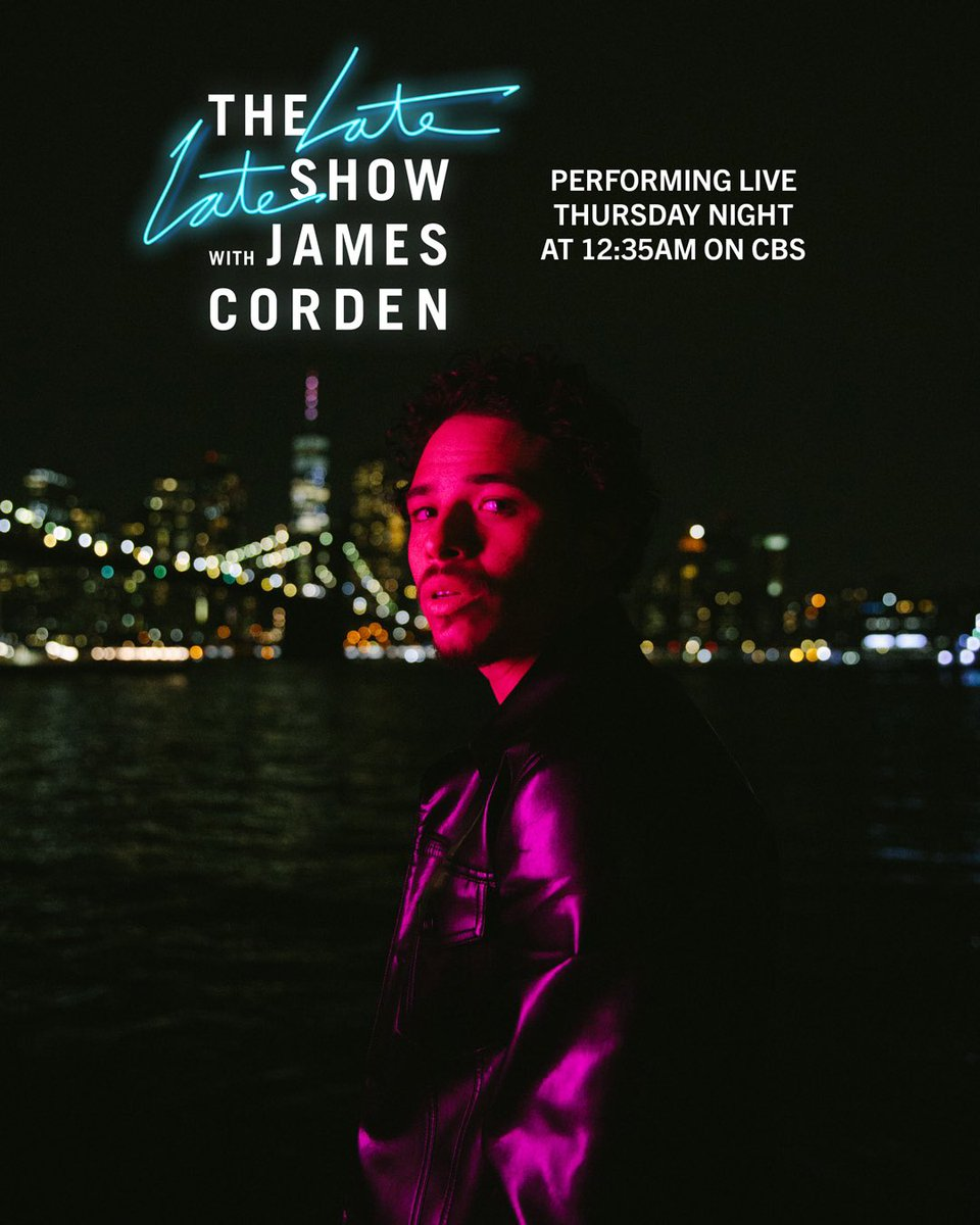 So hyped to catch up with my boy @JKCorden and perform my new single #LoseMyMind on the @latelateshow this Thursday night! https://t.co/qS5aDlsQgH