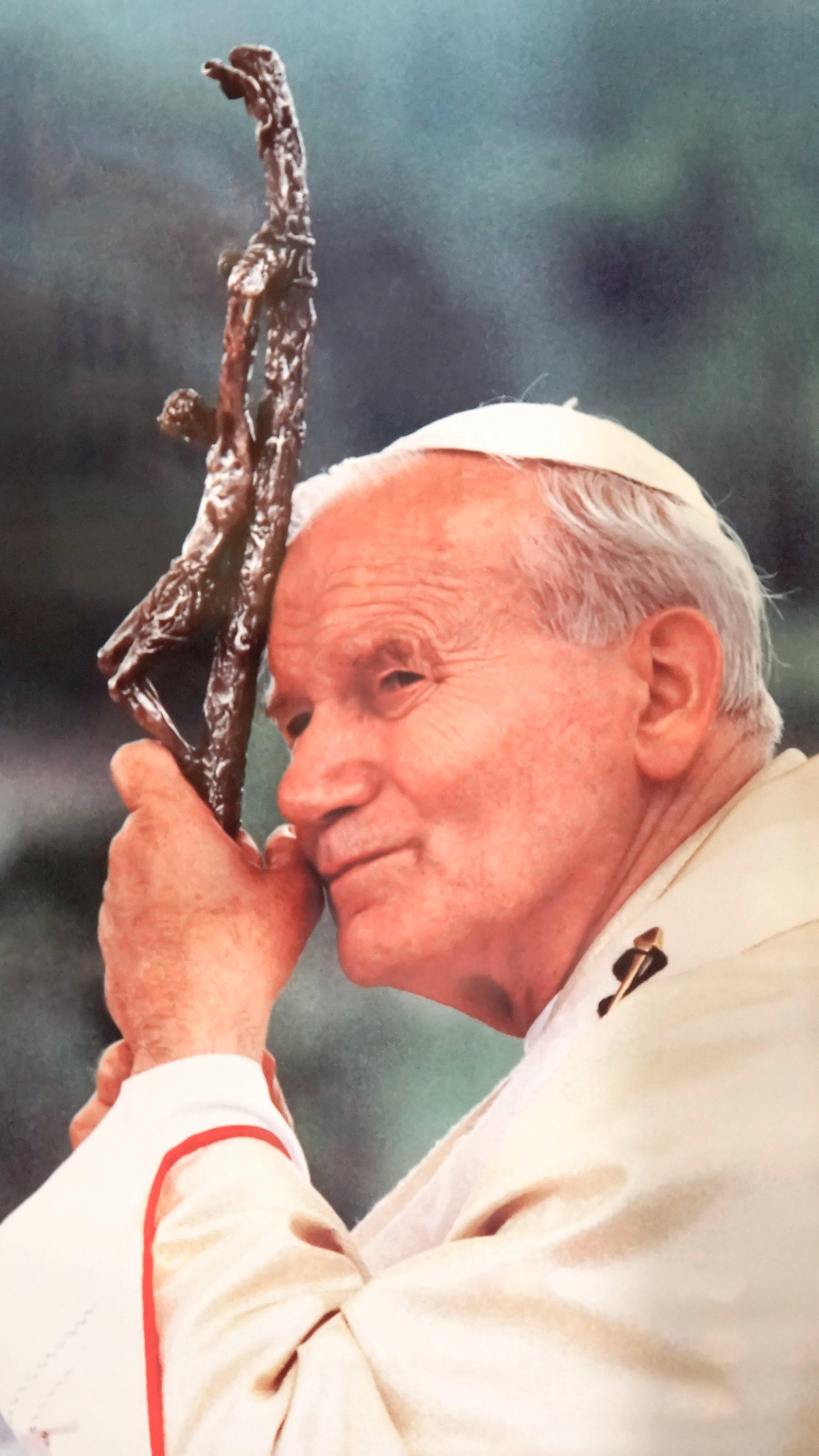 Wallpaper do Papa São João Paulo II