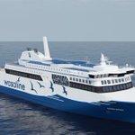 Image for the Tweet beginning: Wasaline's latest #ferry - Aurora