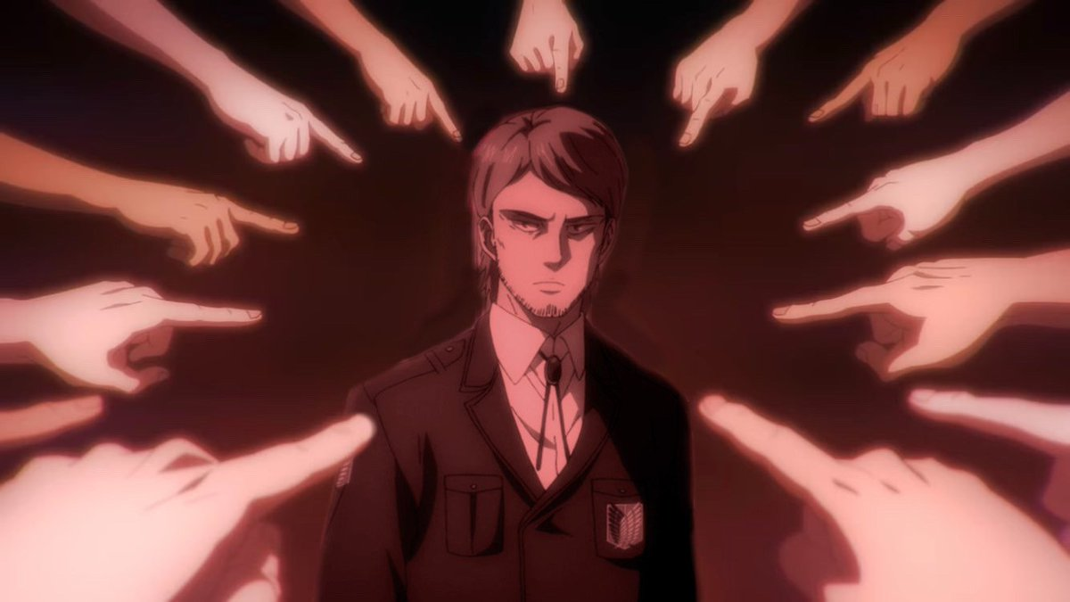 - who had the best character development in attack on titan? https://t.co/1SvP8S1wvv