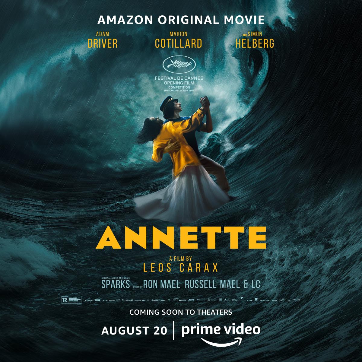 'Annette': Adam Driver e Marion Cotillard vivem romance intenso em novo trailer