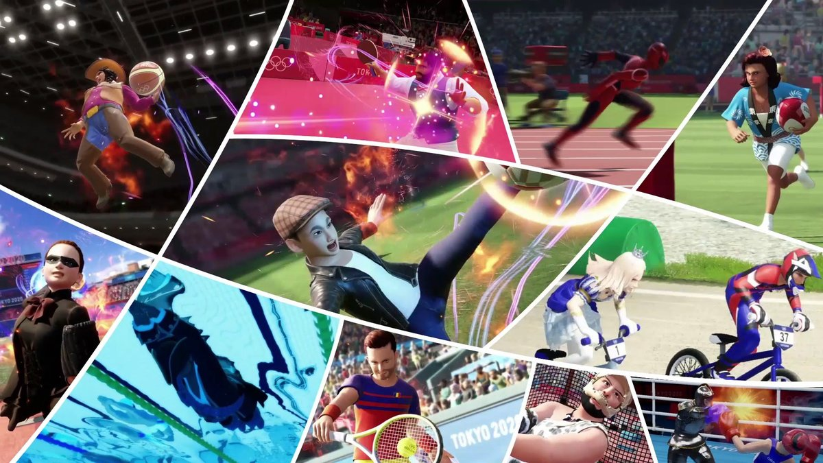 Get ready to go for gold in Olympic Games Tokyo 2020, out today on all platforms!  Craft your dream Olympian, compete across 18 Olympic events, and climb the global leaderboards in your quest for Olympic glory. The fun never stops on the world stage! https://t.co/pqxGZeLebU