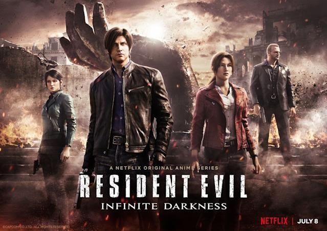 𝟭𝟲 𝗱𝗮𝘆𝘀 𝘁𝗶𝗹𝗹 𝗝𝘂𝗹𝘆 𝟴𝘁𝗵  [Resident Evil: Infinite Darkness release date]  𝟭𝟱𝟱 𝗱𝗮𝘆𝘀 𝘁𝗶𝗹𝗹 𝗡𝗼𝘃𝗲𝗺𝗯𝗲𝗿 𝟮𝟰𝘁𝗵  [Resident Evil: Welcome to Racoon City release date]  #REBHFun #REBH25th #ResidentEvilReboot #ResidentEvilNetflix https://t.co/V94pWvudmZ