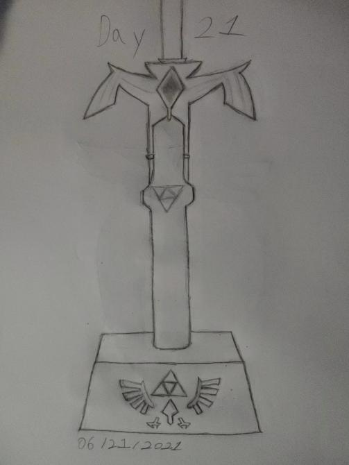 You already know what this is. Master Sword. https://t.co/Nnt6m3ueMQ