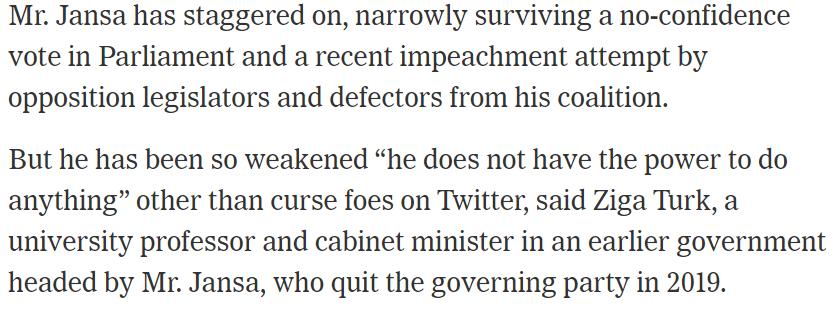 """Zagotovo nisem rekel, da Janša """"preklinja sovražnike na tviterju"""". Da pa nima večine in glasov, da bi kaj znatnega naredil z mediji, pa sem rekel. Ker je res."""