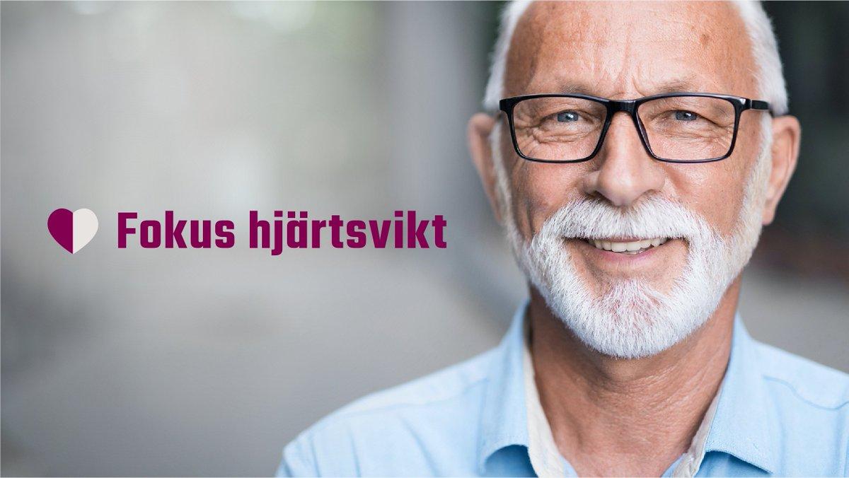 Idag lever ungefär 250000 personer med hjärtsvikt i Sverige. Det blir vanligare med högre ålder och är relativt ovanligt bland unga, men det är viktigt att vara upp-märksam på riskfaktorer och symtom. Kunskap kan förebygga hjärtsvikt. Läs mer på: https://t.co/Ong2RfmrMw https://t.co/kAUXcLgcGR