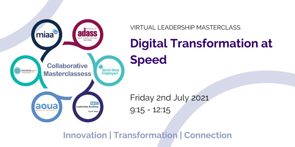 test Twitter Media - Join us on Friday 2nd July for the next NW Collaborative Masterclass where we will be looking at the lessons learnt from the rapid adoption of digital innovations during the pandemic. Book your place here   https://t.co/02fSdv1jxH https://t.co/z1FfCzAplZ