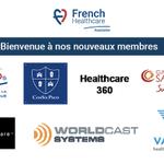 Bienvenue aux nouveaux adhérents qui nous rejoignent au mois de Juin ! @AFCROs, ComSecProd S.A.S, @Clinique_StJean Wecare Lab, @WorldCastSys et Vamed France  Pas encore membre ? Rejoignez-nous 👉🏻 https://t.co/J0ipXCI8y6 #frenchhealthcare #boostezvotrebusiness #healthcare