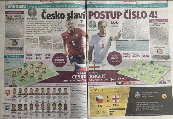Sport | التشكيلة المتوقعة لمنتخبي إنجلترا و