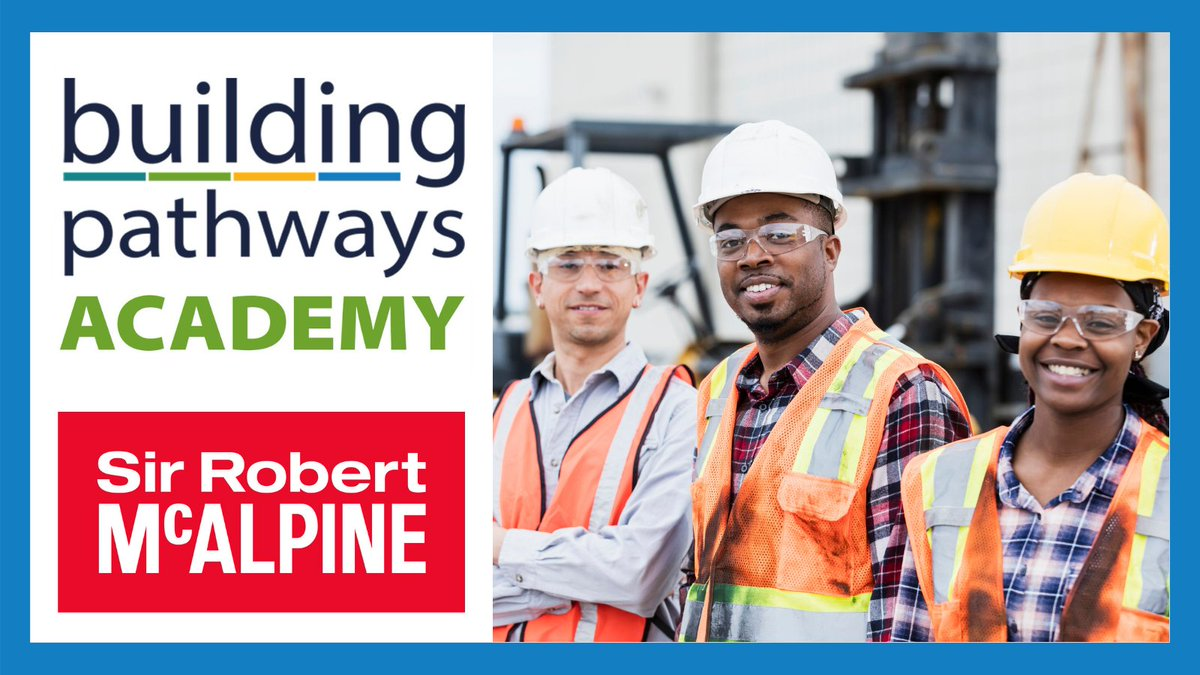 We are delighted to be working with @WeAreMcAlpine on our next Building Pathways Academy in July. Barry Ryan, Sustainability Manager, will be taking the lead on industry masterclasses for the next set of participants. Find out more and sign up here! https://t.co/BQAYvgNVXP #CSCS