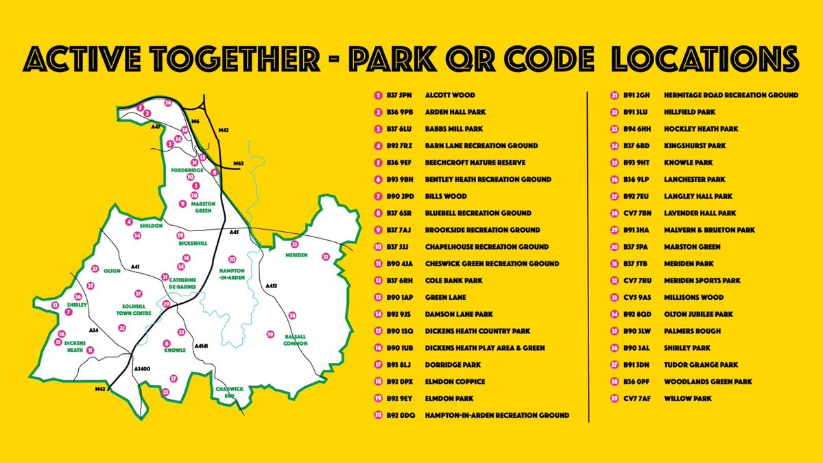 test Twitter Media - The sun has been shining and that means one thing...the outdoors!☀️⛅️ Don't forget to look out for a QR code in the park and scan it to enter for our school! #AtParks @ThinkActiveCSW @SolihullActive @SSolihullSSP https://t.co/9Vh64zUVvE