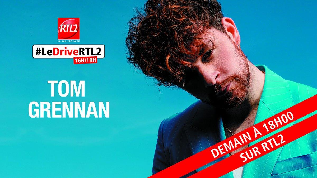 Demain dès 18h retrouvez @Tom_Grennan dans @LeDriveRTL2 !🎸 https://t.co/tOxxKsHmiI