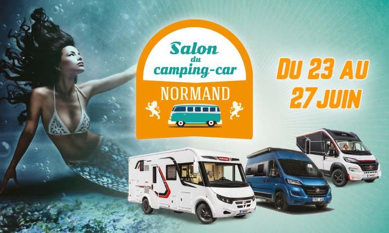 Le Salon du Camping-Car débute demain 🎉🎉  Du 23 au 27 juin, le #ParcExpodeCaen accueille le 8èmeSalon du #Camping-Car #Normand.   ▶️Horaires : 10h-19h non-stop. ▶️Entrée : 3 €, gratuite sur invitation à télécharger sur : https://t.co/ydHyAWrLJf https://t.co/tI8cxWaR4Q
