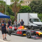 Image for the Tweet beginning: Spot con #F1 Red Bull