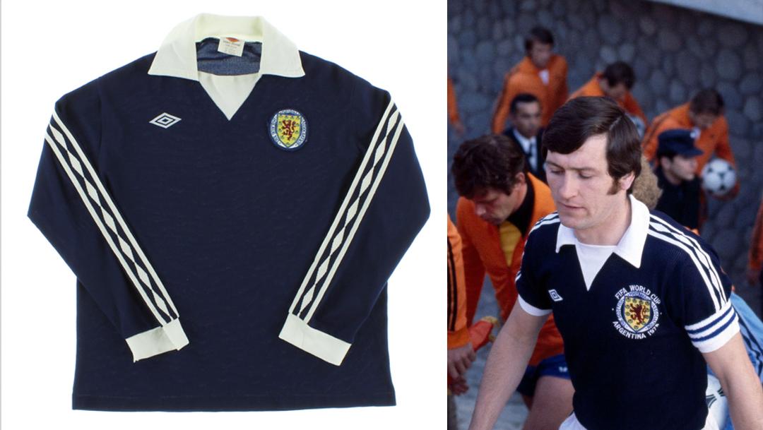 Scotland 1978 Home Kit