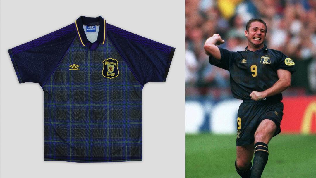 Scotland Euro 96 Home Kit
