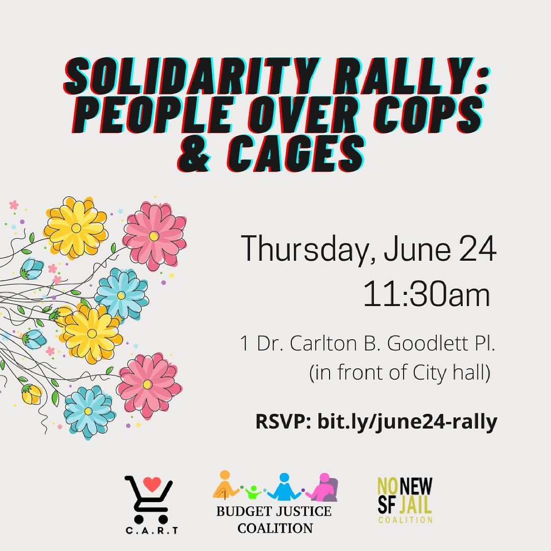 People Over Cops & Cages Rally - SF @ SF City Hall