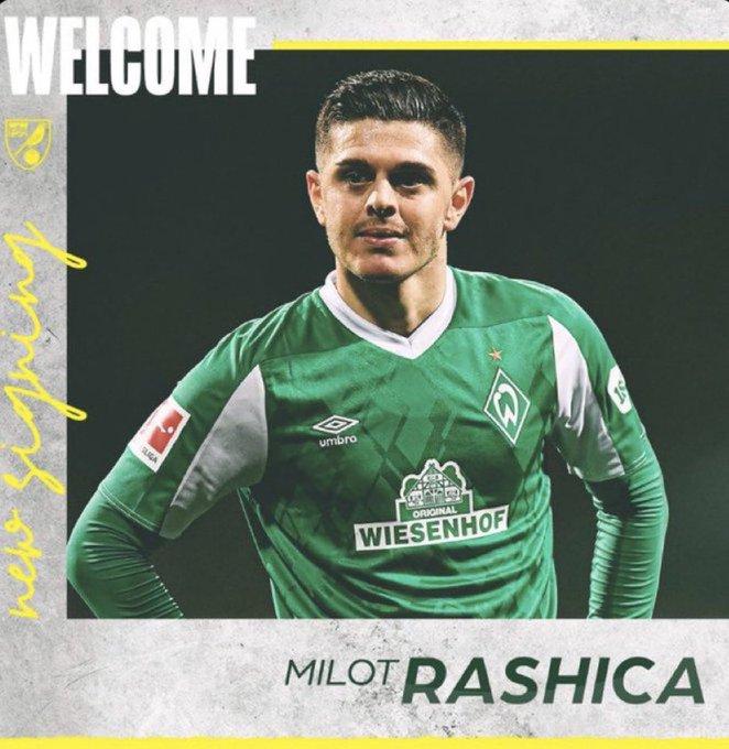 رسميا : نوريتش يتعاقد مع راشيسكا