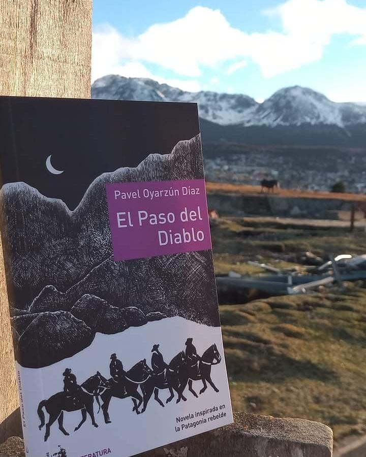 Llegó a Tierra del Fuego 📚 El Paso del Diablo 📚👇