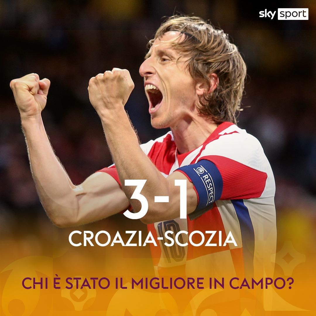 #CroaziaScozia