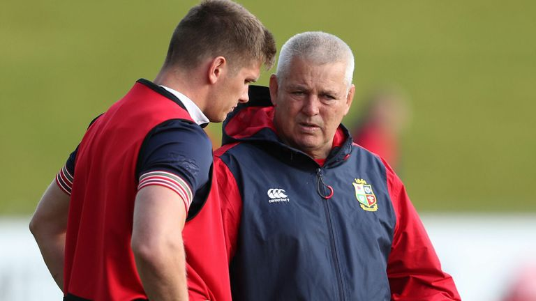 """test Twitter Media - """"I asked the players to pick a leadership group. I thought it was interesting that he ended up with the most votes.""""  Warren Gatland has revealed that a player poll identified Owen Farrell as the talisman of the British & Irish Lions' leadership group: https://t.co/7W45EXxn8P https://t.co/GEcx0BVKzz"""