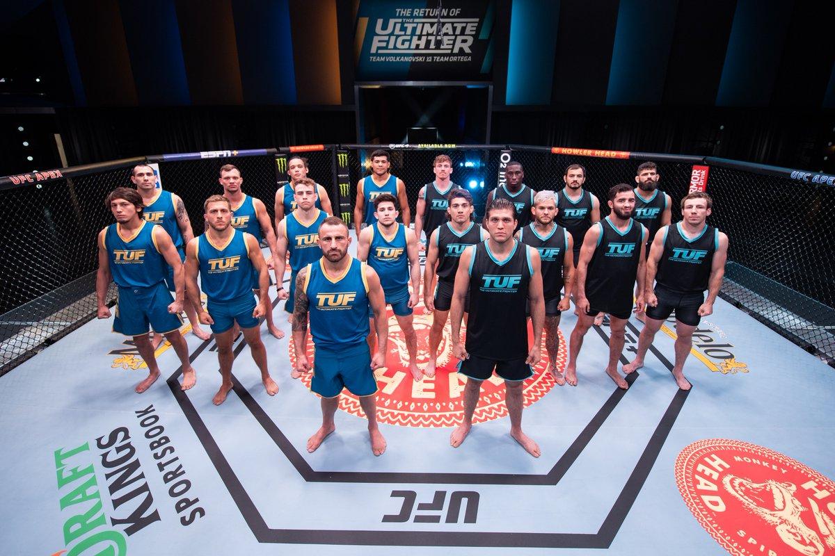 Are you #TeamVolkanovski or #TeamOrtega?!  Brand new #ReturnofTUF tonight on @UFCFightPass simultaneous with the US! https://t.co/qoB58OELWz