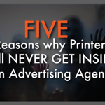Image for the Tweet beginning: 5 Reasons Why Printers Will