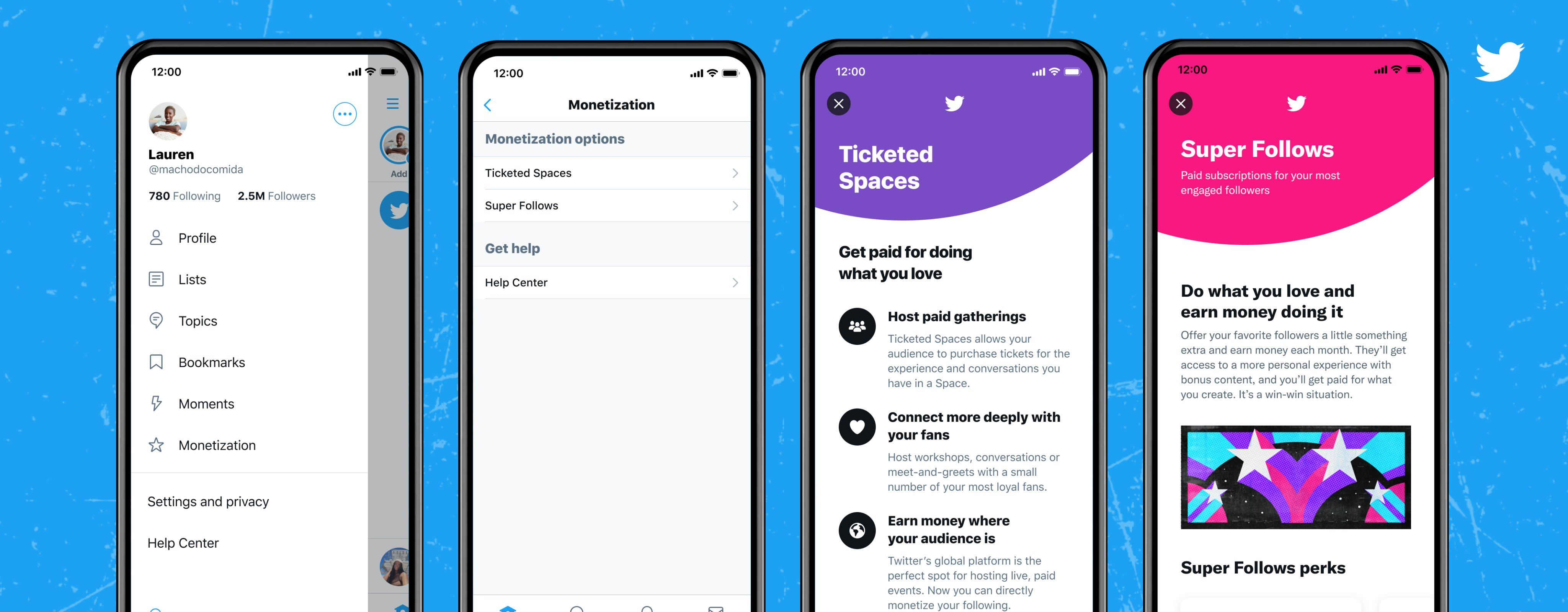 Twitter Expands the Availability of Super Follow and Ticketed Spaces