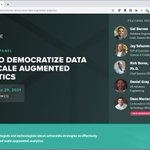 Image for the Tweet beginning: Join me with @AtScale, @DataRobot